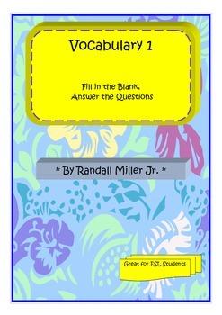 Vocabulary Words 1