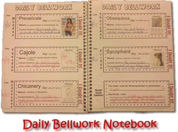 Word of the Day: 18 weeks of daily bellwork