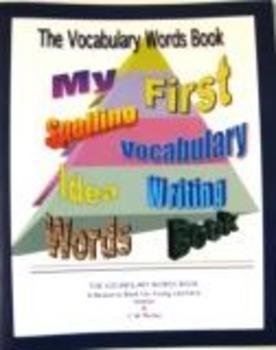 Vocabulary Words Book