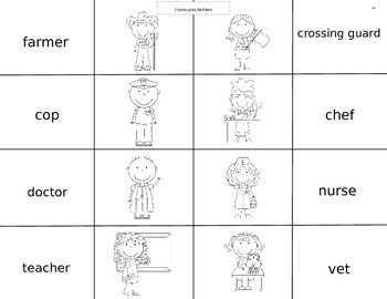 Vocabulary Words  Cut, Fold, and Flip