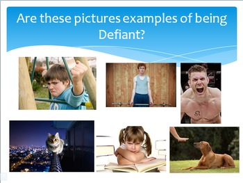 Vocabulary Words Powerpoint - Themed for Courage and Bravery