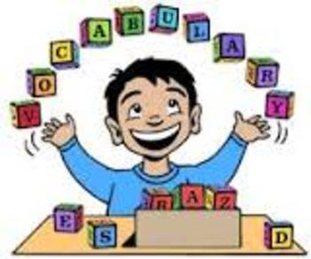 Vocabulary Words and Assessment