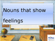 Vocabulary Words that show Feelings