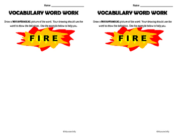 Vocabulary Work