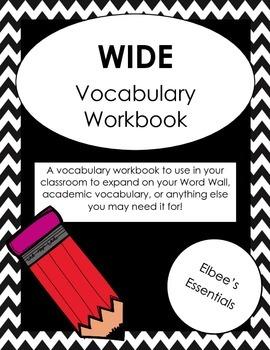 Vocabulary Workbook WIDE