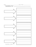 Vocabulary Worksheet (Blank)