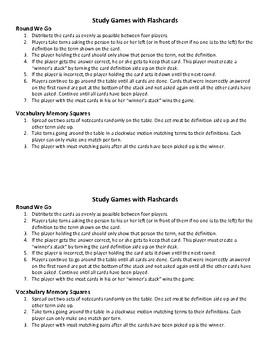 Vocabulary Worksheet Bundle