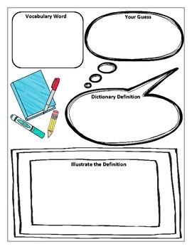Vocabulary Worksheets
