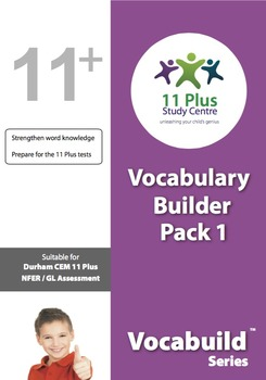 Vocabulary Worksheets Pack 1