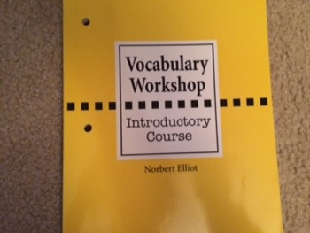 Vocabulary Workshop: Introductory Course