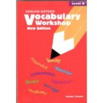 Vocabulary Workshop - Level D - Unit 3 sentence completion test