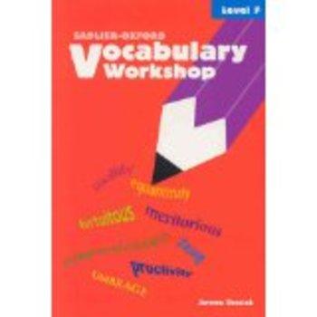 Vocabulary Workshop Level F Unit 8 test and key