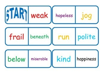Vocabulary Workstation Games and Activities Bundle