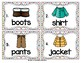 Vocabulary Write the Room: Clothing Set