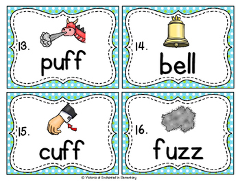 Vocabulary Write the Room: Double Consonants Set