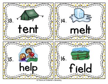Vocabulary Write the Room: Ending Blends Set 1