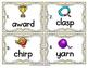 Vocabulary Write the Room: Ending Blends Set 2