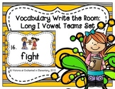 Vocabulary Write the Room: Long I Vowel Teams Set