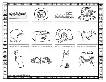 Vocabulary Write the Room: R-Blend Words Set