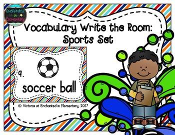 Vocabulary Write the Room: Sports Set