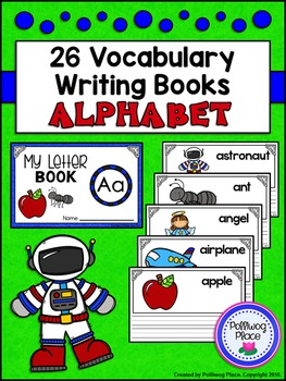 Vocabulary Writing Books - Alphabet