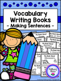 Vocabulary Writing Books - Set 1