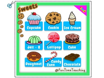 Vocabulary about Sweets ESL EFL