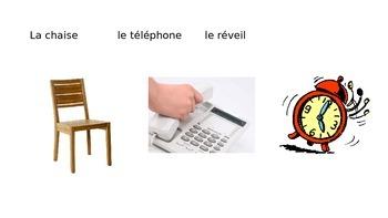Vocabulary about a story