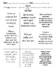 Vocabulary and Spelling Menu 14 Weekly Units