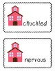 Vocabulary and Spelling Words for First Day Jitters