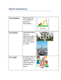 Vocabulary and Task for Block Center