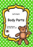 Vocabulary - body parts