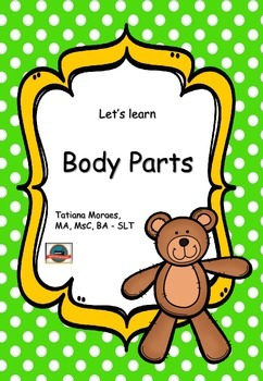 Vocabulary - body parts