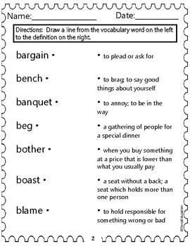 Vocabulary building through language skills- set B