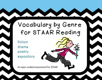 Vocabulary by Genre for STAAR Reading