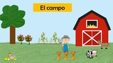 Vocabulary cards Spanish places and transportation (lugare