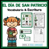Spanish Word Wall and Vocabulary Activities: Saint Patrick's Day
