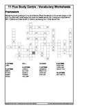 Vocabulary exercises - word search, antonyms
