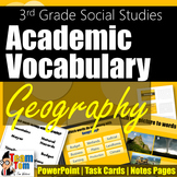 Vocabulary for 3rd Grade Geography