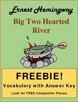 "Vocabulary for ""Big Two Hearted River"""