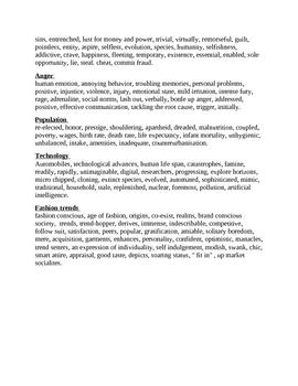 Vocabulary for Creative Writing: By Nisha Lakhiani