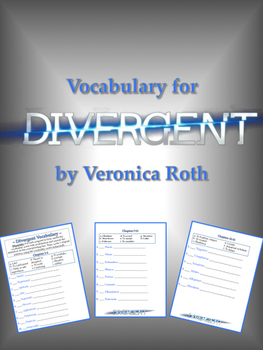 Vocabulary for Divergent - ENTIRE NOVEL!