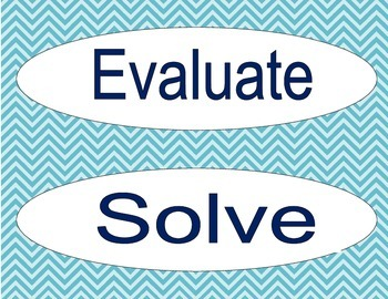 Vocabulary for Exponents & Equations (Unit 2 CCGPS 8th grade)