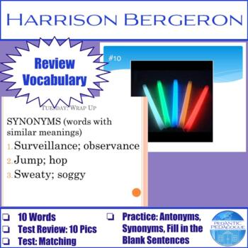"Vocabulary for ""Harrison Bergeron"" by Kurt Vonnegut"