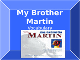 Vocabulary for My Brother Martin: Journey's Lesson 2