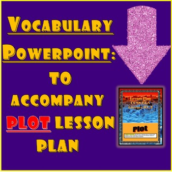 Vocabulary for Plot Lesson Plan