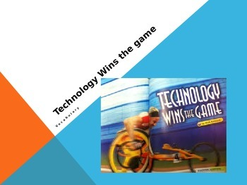 Vocabulary for Technology Wins the Game: Journey's Lesson 11