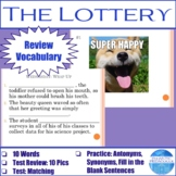 """Vocabulary for """"The Lottery"""" by Shirley Jackson"""