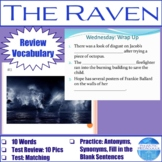 "Vocabulary for ""The Raven"" by Edgar Allan Poe"