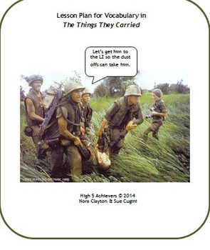 Vocabulary for The Things They Carried by Tim O'Brien